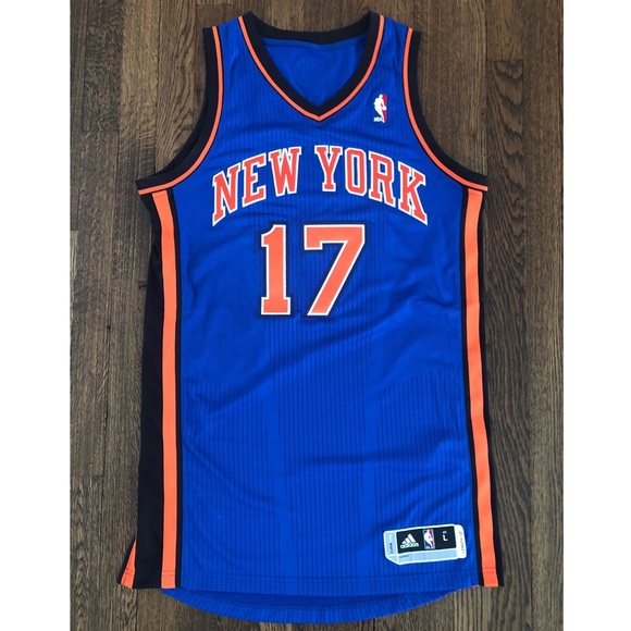 timeless design b3aed 9aee2 NBA Adidas Authentic NY Knicks Jeremy Lin Jersey
